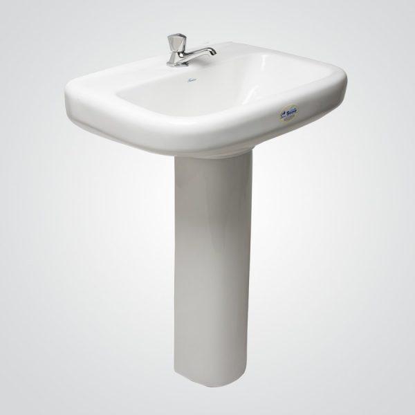Lavamanos Plus con pedestal al piso