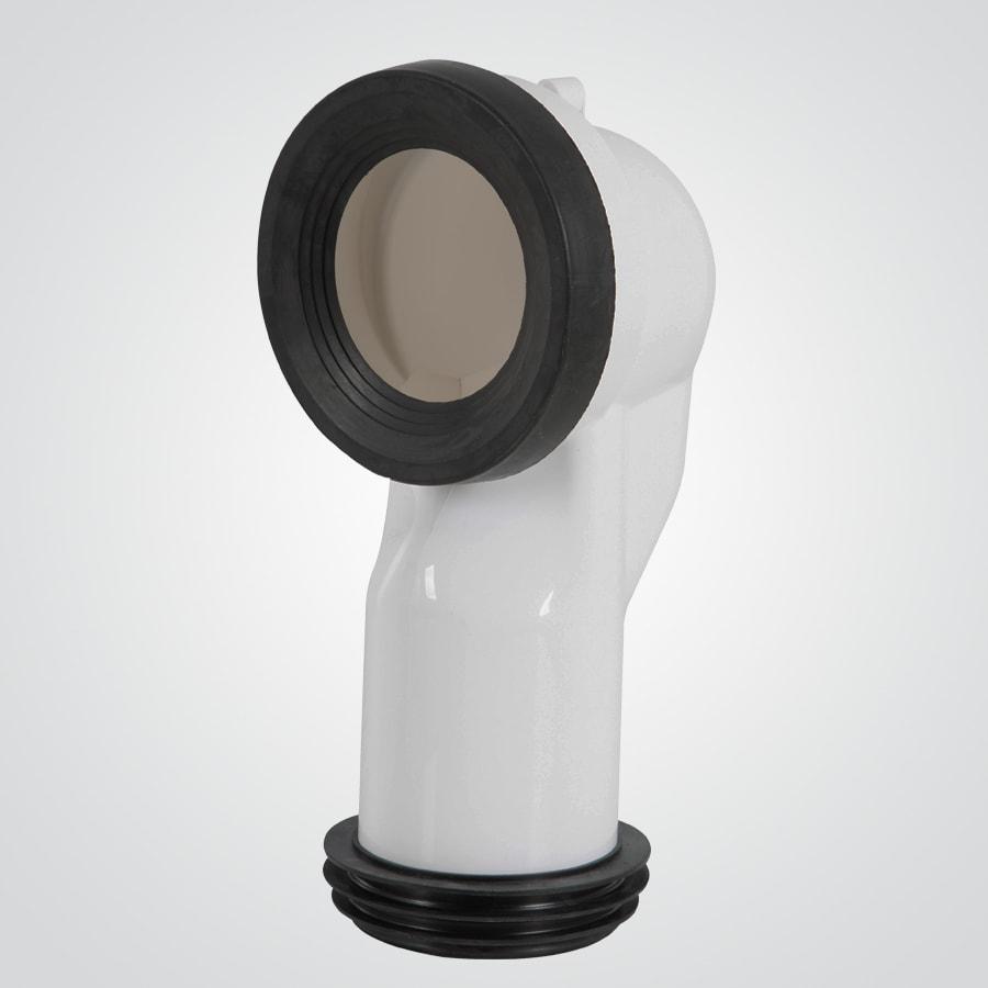 codo de conexión taza-piso 25 cm